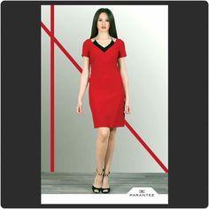 Kırmızının eşsiz gücünü ofise yansıtın.  #yenisezon #bayangiyim #onlineshop #parantezgiyim #indirim #alisveris #elbise #moda #fashion  parantezgiyim.com.tr