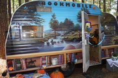 Sisters on the Fly...Bookmobile...  brings back sweet memories