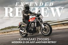 EXTENDED REVIEW: The 2018 Kawasaki Z900RS - Pipeburn.com Kawasaki Heavy Industries, Roland Sands, Motorcycle Wallpaper, Retro Bike, Kawasaki Motorcycles, Motorcycle Design, Custom Bikes, Touring, How To Look Better