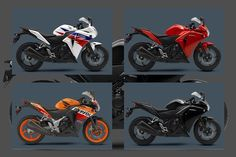 Honda CBR 250R 2013 colours