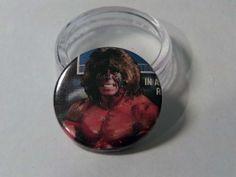 Comic Book 1.5 Button// Ultimate Warrior, $1.00