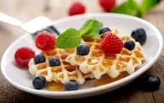 Fruity Waffles