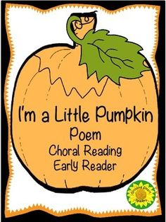 7 page mini book and larger one to illustrate recite the poem with actions practice fluency with halloween poetry - Cute Halloween Poem