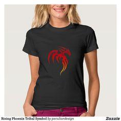 Rising Phoenix Tribal Symbol T-shirt