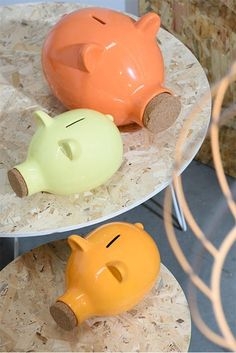You can't miss the 'Trendy OSB' collection by J-line! OSB has a young and industrial look. Piggy Bank, Money Box, Money Bank, Savings Jar