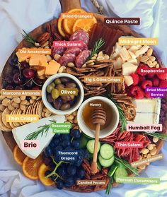 5 Charcuterie Items to Elevate Your Holiday Spread We've already covered the one-stop cheese board shopping guide . But for the occasions when you have a little more time to gather ingredients, here are a few items that are worth the extra effort. Charcuterie Recipes, Charcuterie Platter, Charcuterie And Cheese Board, Cheese Boards, Crudite Platter Ideas, Meat Cheese Platters, Charcuterie Spread, Meat Platter, Antipasto Platter
