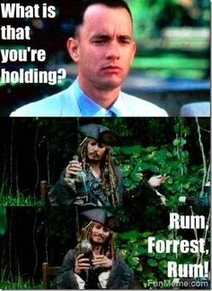 LOL! Forrest Gump… What Is That You're Holding?