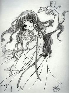 Cardcaptor Sakura - Tomoyo by Pikachumaniac.deviantart.com on @deviantART