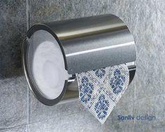 Modern Toilet Paper Holders, Black Toilet Paper Holder, Toilet Roll Holder, Pink Tub, Modern Contemporary Bathrooms, Hotel Room Design, New Toilet, Tupperware, Bathroom Accessories