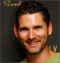 Eric Bana, seen here in February, was uninjured when he and his driving partner crashed their car during a race in Tasmania.
