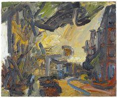 FRANK AUERBACH - Mornington Crescent II (1993)