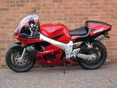 GSXR600 SRAD. I believe this would be the first sportsbike I rode on the road, I expected it to be faster but loved it's handling