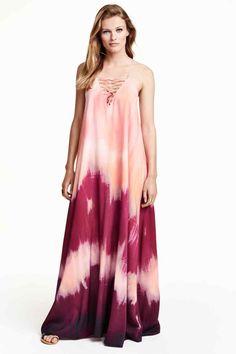 Vestido largo estampado 59,99 €