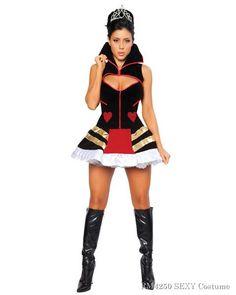 Sexy Queen of Hearts Women's Costume,$69.96