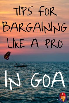 Tips for Bargaining Like a Pro in GOA! #India