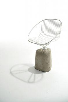 Solid shell chair  chair . Stuhl . chaise  Design: Gautier Pelegrin  