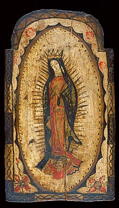 Our Lady of Guadalupe by Pedro Antonio Fresquís