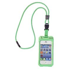 Waterproof Iphone case with lanyard (you could macrame) is PERFECT for #craftingcommunity