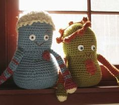 Gordo  free pattern - beginner. Just be sure not to over stuff them so that they remain soft and huggable.