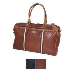Aaahhhh I just love these leather traveller bags!!!!!!!  (L.)  Rowallan Oxbridge Weekender.  http://www.annabelchaffer.com/categories/Gentlemen/