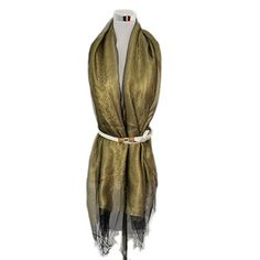 Elegant Solid Wedding Pashmina Scarf Fringe Wrap Shawl Silk Feel Mother Birthday Gift. Material:40% pure silk/50% cotton/40% gold wire (meridian is 100% mulberry silk/cotton weft is/gold). Size:(app)(LxW)200*70cm/78*27.3inch. Hand wash and natural drying.Soft and comfortable to touch,the beautiful style will add brilliance to your outfit. Kindly note that an piece of fashion square scarf can be worn in various ways(circle around neck,tied together or decorate with your purse,etc..)…