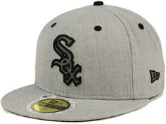 New Era Chicago White Sox Total Reflective Fitted Cap White Sox Logo, Cubs Hat, Fitted Caps, Chicago White Sox, Sports Fan Shop, Gray Background, Hats For Men, Baseball Hats, Winter Hats