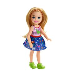 Check out Barbie Club Chelsea Doll featuring blonde wearing dinosaur-themed look with removable skirt. Explore the world of Chelsea at our Barbie shop today! Mattel Barbie, Barbie Shop, Barbie Dolls, Club Chelsea, Chelsea Doll, Barbie Website, Disney Gift Card, Plastic Girl, Red Headband