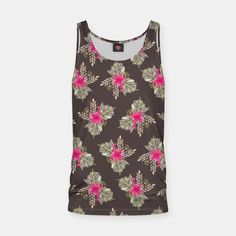 Tropical garden Tank Top Printed Tank Tops, Tropical Garden, Container Gardening, Stylish, Live, Women, Fashion, Moda, Fashion Styles