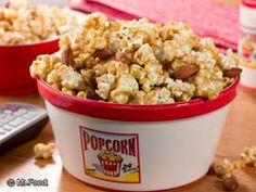 Our can't-get-enough-of-it Caramel Nut Crunch Popcorn is sure to satisfy all of your cravings, from crunchy and sweet to salty! If you love popcorn, this is one recipe you'll be reaching for over and over!