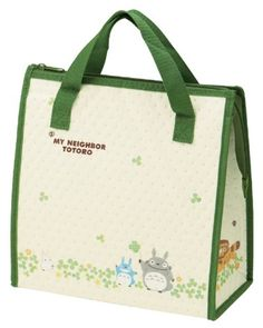 6d67c7565c90 Totoro Design Reusable Bento Box Lunch Bag with Thermal Linning Totoro  http   www
