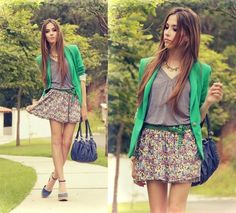 Cute summer/spring outfit~