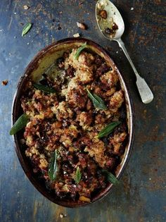 pork stuffing recipe with sage, onion and chestnuts