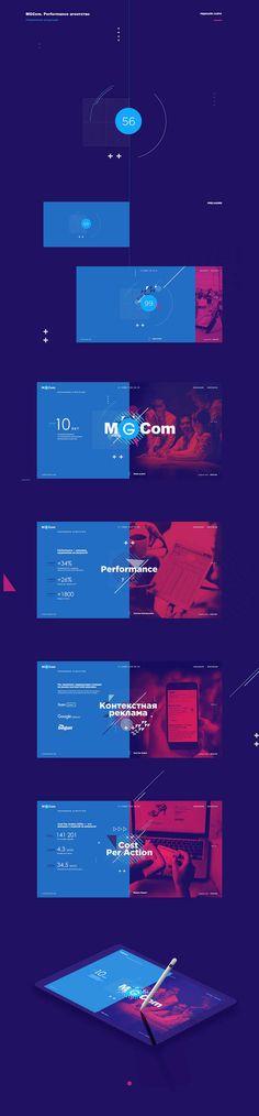 MGCom-Microsite #ui #ux #userexperience #website #webdesign #design