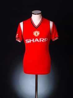 143101bc6 United home kit 1984 Manchester United Images