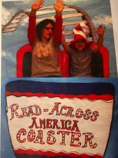 Read Across America bulletin board. #raa13