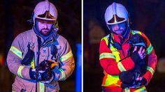 Dramaattiset kuvat: Palomiehet pelastivat perheen lemmikit roihuavasta kodista Haminassa - Kotimaa - Ilta-Sanomat