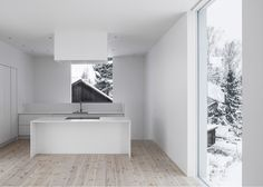 Villa Mörtnäs kitchen. Image© Johan Dehlin via ArchDaily.