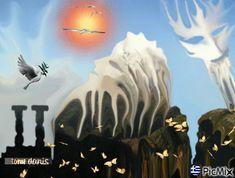 MAGIC WORLD 4 original backgrounds, painting,digital art by tonydanis Fantasy World, Greece, Digital Art, Backgrounds, Magic, The Originals, Movie Posters, Painting, Fantasy