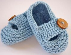 Knit Baby Shoes for Your Bundle
