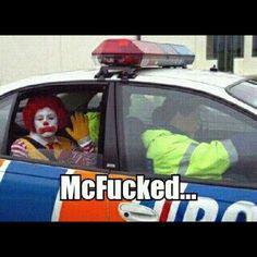 shit got real at McDonalds CLOWNS ARE VERY CREEPY