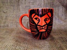 Lion King Coffee Mug // You are More Than What by SeedsOfFaithMom, $8.00