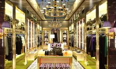 Tory Burch flagship store, London store design