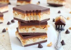 Recipe:  Homemade Snickers® Bar   http://www.imperialsugar.com/recipes/desserts/candy/Homemade-Snickers-Bar