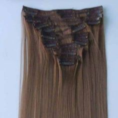 Fashion Style High Temperature Fiber Long Straight Hair Extension For Women(6#), AS THE PICTURE in Hair Extensions | DressLily.com