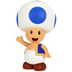 "World of Nintendo 4"" Toad Figure with Coin Accessory Nint..."