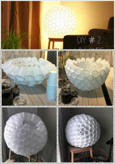 la lampe gobelets
