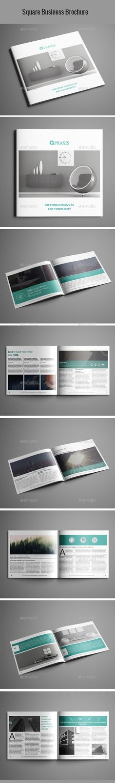 Architecture Brochure Template InDesign INDD Download here