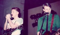 Barney & Hooky - another of my photos of New Order at the Imperial Cinema, Birmingham, 23 Jan 1982 ... Follow - > www.songssmiths.wordpress.com Like -> www.facebook.com/songssmithssongssmiths