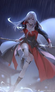 Cool Anime Girl, Beautiful Anime Girl, Kawaii Anime Girl, Anime Art Girl, Manga Girl, Anime Guys, Girls Characters, Fantasy Characters, Female Characters