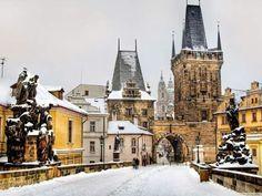 Imagen de prague and winter